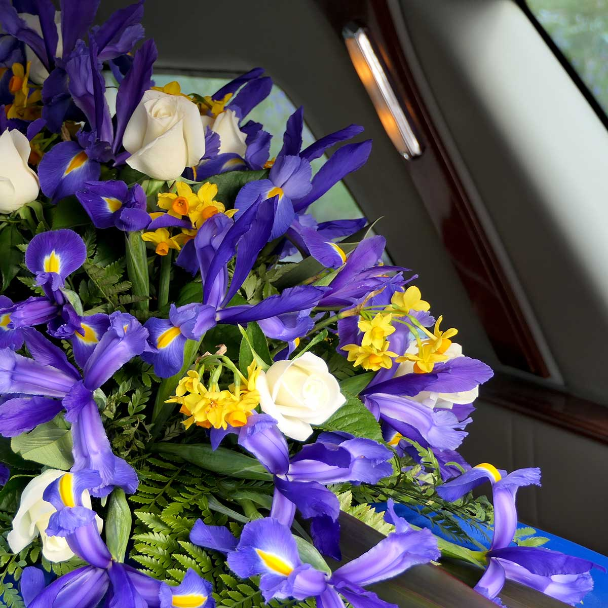 Burial flowers funeral services options