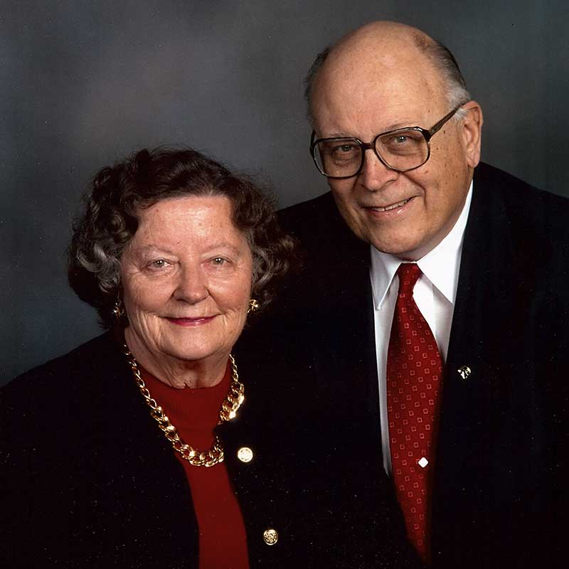 Blanche R. Kriegshauser 1932-2013 and Herman L. Kriegshauser 1932-2016