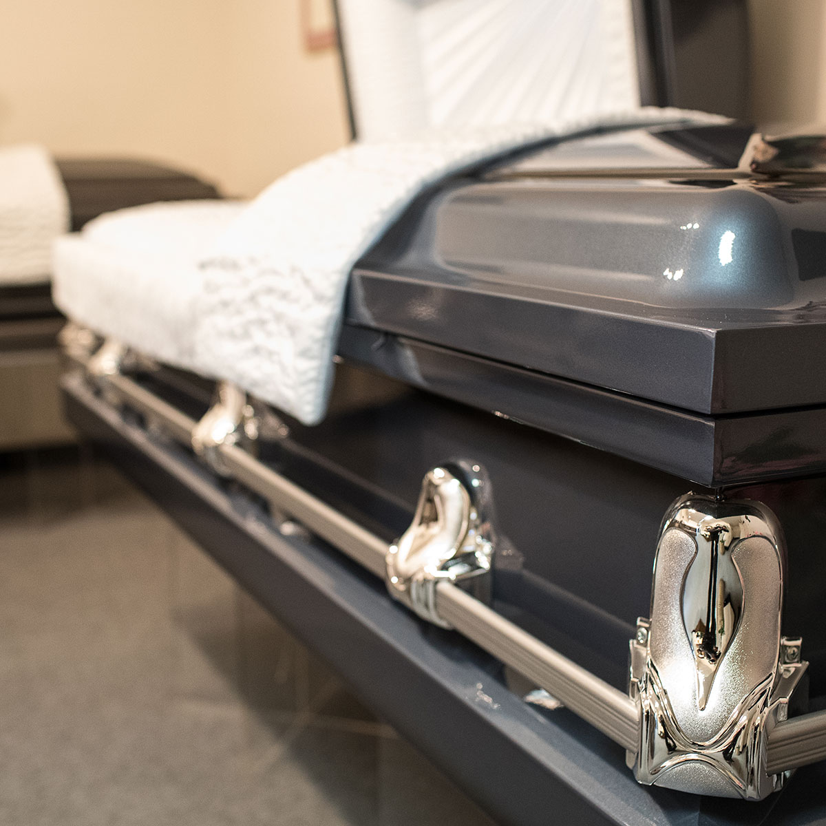 Steel casket funeral services options